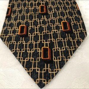 Ermenegildo Zenga Silk Tie made In Italy. NWOT
